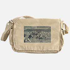 rugby art Messenger Bag