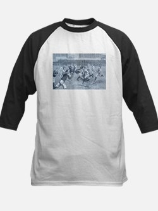 rugby art Baseball Jersey