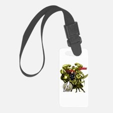The Avengers Black Widow: Green Luggage Tag