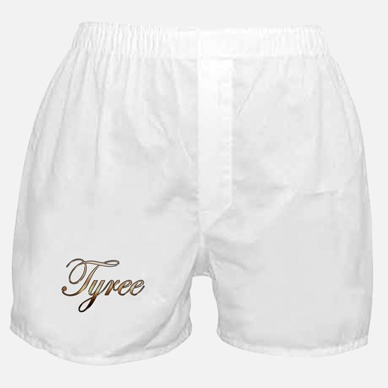 Gold Tyree Boxer Shorts