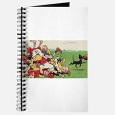 rugby art Journal