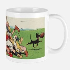 rugby art Mugs