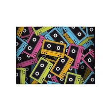 Audio Cassettes 5'x7'Area Rug