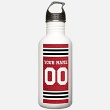 Personalize Hockey Sports Water Bottle