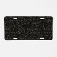 Scientific Formula On Blackboard Aluminum License