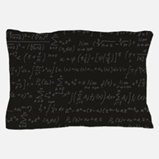 Scientific Formula On Blackboard Pillow Case