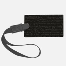 Scientific Formula On Blackboard Luggage Tag