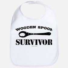 Wooden Spoon Survivor Bib