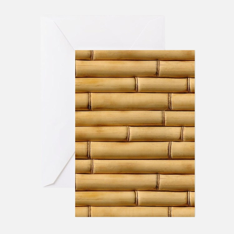 Bamboo Sticks Greeting Cards