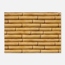 Bamboo Sticks 5'x7'Area Rug