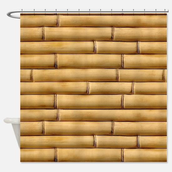 Bamboo Sticks Shower Curtain