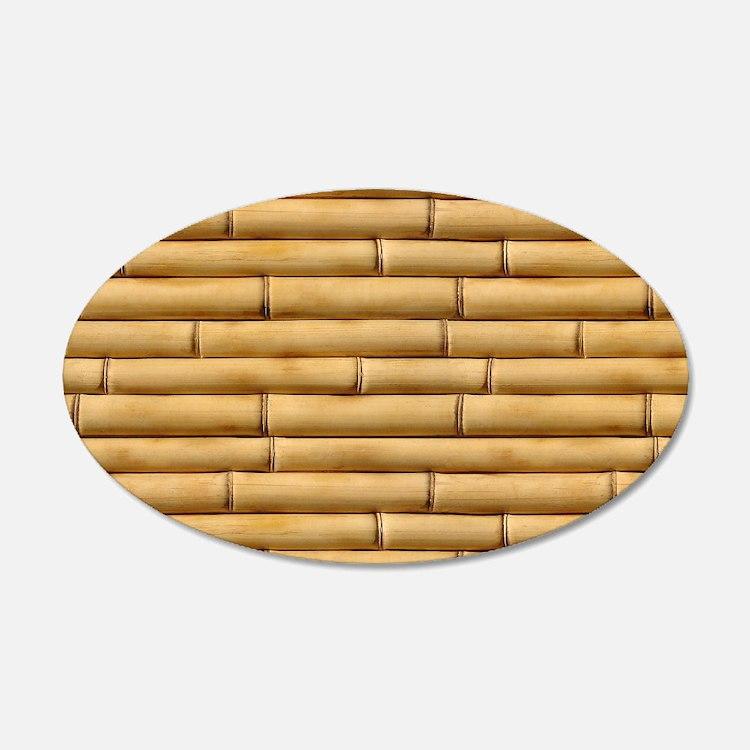Bamboo wall art decor
