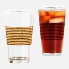 Bamboo Sticks Drinking Glass