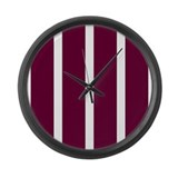 Burgundy Wall Clocks