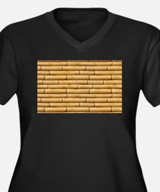 Bamboo Sticks Plus Size T-Shirt
