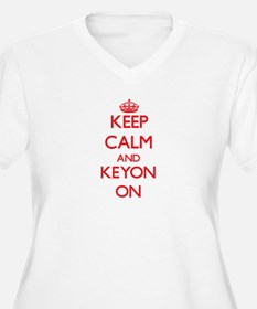 Keep Calm and Keyon ON Plus Size T-Shirt
