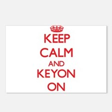 Keep Calm and Keyon ON Postcards (Package of 8)