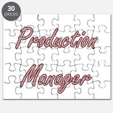 Production Manager Artistic Job Design Puzzle