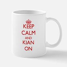 Keep Calm and Kian ON Mugs