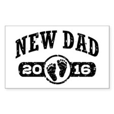 New Dad 2016 Stickers