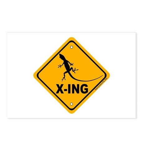 Gecko Xing Postcards (Package of 8)