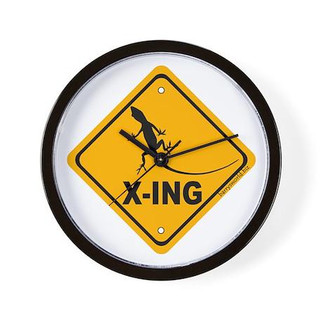 Gecko Xing Wall Clock