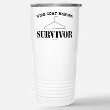 Wire Coat Hanger Surviv Travel Mug