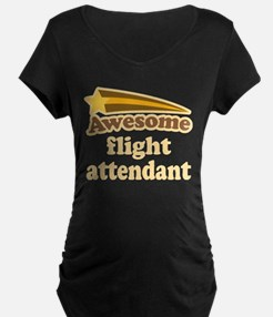 Awesome Flight Attendant T-Shirt