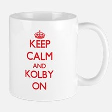 Keep Calm and Kolby ON Mugs