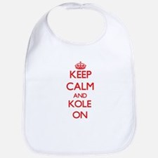 Keep Calm and Kole ON Bib