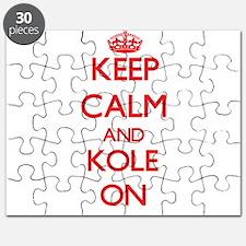 Keep Calm and Kole ON Puzzle