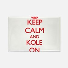 Keep Calm and Kole ON Magnets