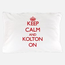 Keep Calm and Kolton ON Pillow Case