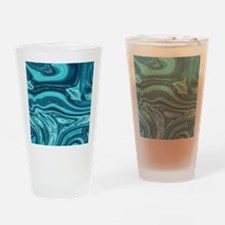 modern swirls Drinking Glass