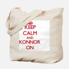 Keep Calm and Konnor ON Tote Bag