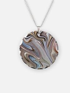 modern swirls Necklace