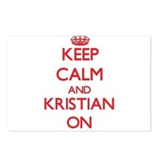 Keep Calm and Kristian ON Postcards (Package of 8)