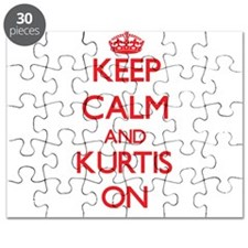 Keep Calm and Kurtis ON Puzzle