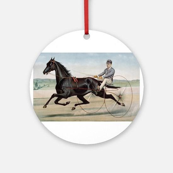larness racing art Ornament (Round)