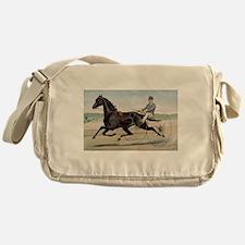 larness racing art Messenger Bag