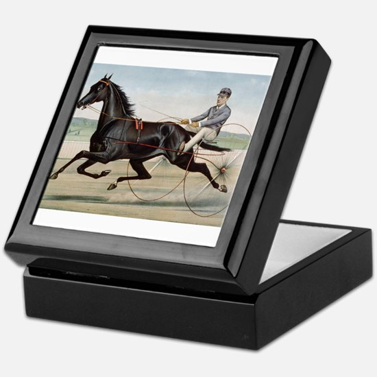 larness racing art Keepsake Box