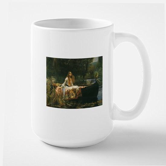 Lady of Shalott by JW Waterhouse Mugs