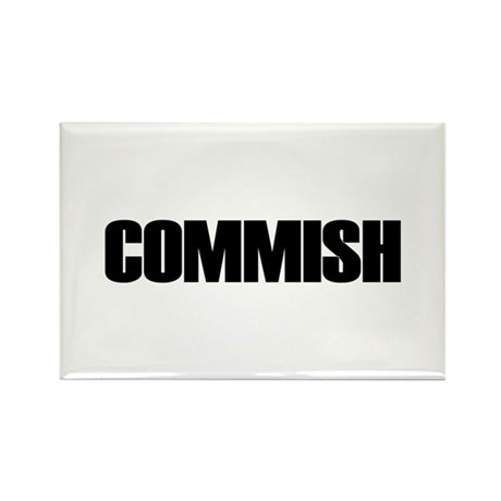 COMMISH Rectangle Magnet