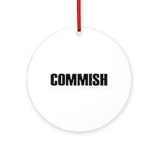 COMMISH Ornament (Round)