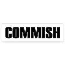 COMMISH Bumper Bumper Sticker