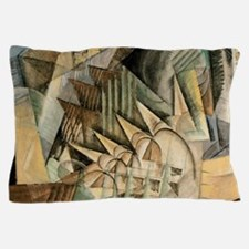 Rush Hour by Max Weber Vintage Cubism Pillow Case