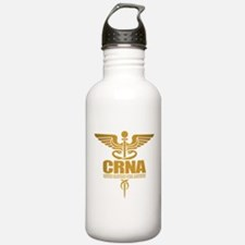 CRNA gold Water Bottle