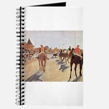 degas horse racing art Journal
