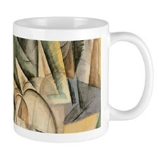 Rush Hour by Max Weber Vintage Cubism Mugs