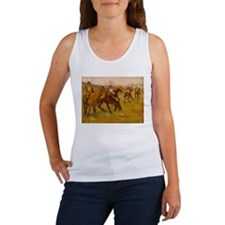 degas horse racing art Tank Top